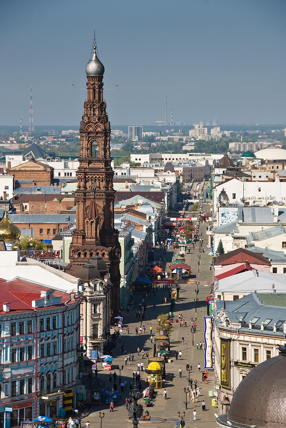 улица баумана в Казани - местный арбат