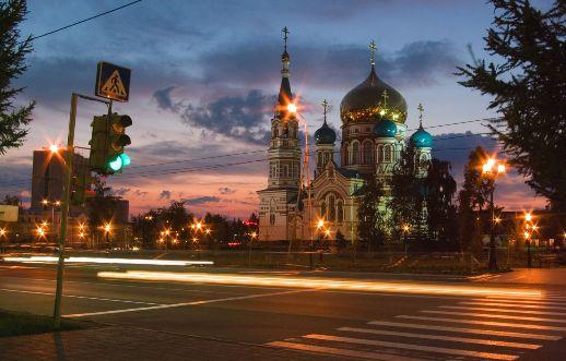 Красивый и загадочный город Омск