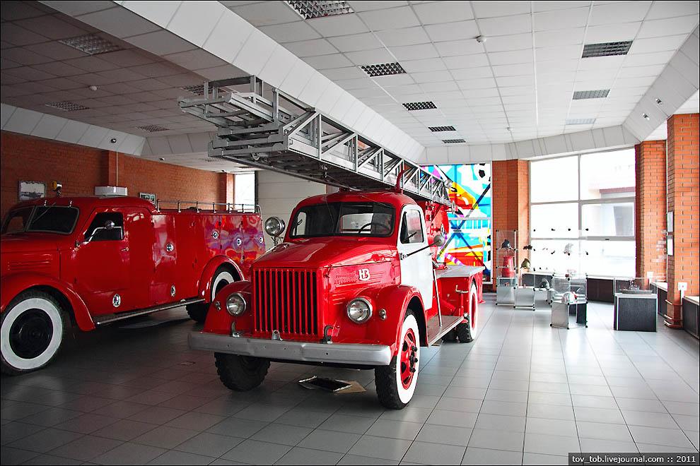 музей пожарного дела казань
